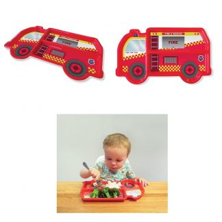 DinnerTime Fire Truck Food Tray