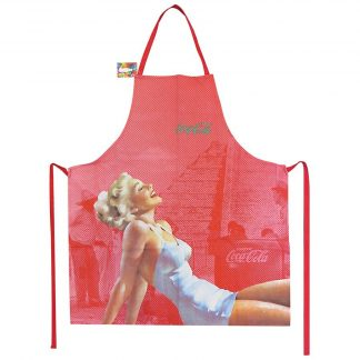 Coca Cola Apron Pin Up Blonde