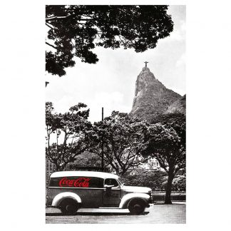 Coca Cola Tea Towel Landscape Rio