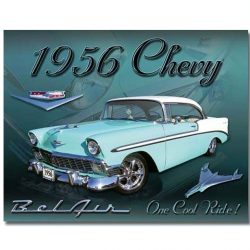 Chevy 1956 Bel Air Metal Tin Sign