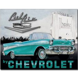 Chevy 1957 Bel Air Metal Tin Sign