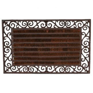 Cast Iron Rectangular Doormat