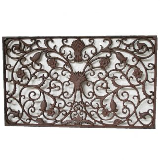 Cast Iron Rectangle Grande Doormat