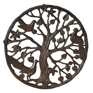 Cast Iron Round Nightingale Doormat