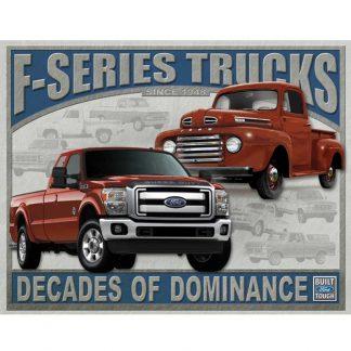 Ford F-Series Trucks Tin Sign