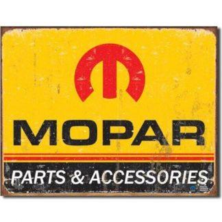 Mopar Logo 64-71 Metal Tin Sign