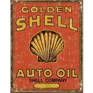 Shell Auto Oil Metal Tin Sign