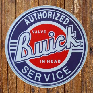 Buick Service Metal Tin Sign