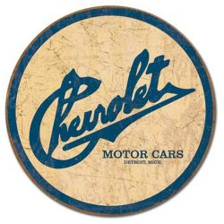 Chevy Historic Logo Metal Tin Sign
