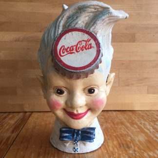 Coke Sprite Boy Head Money Bank
