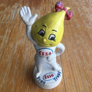 ESSO Girl Mrs Drip cast iron money bank