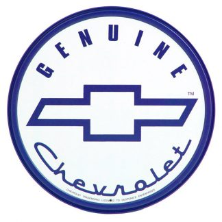 Genuine Chevrolet Metal Tin Sign