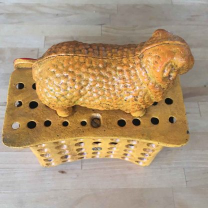 Golden Fleece Cast Iron Money Box
