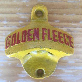 Golden Fleece Cast Iron Wall Bottle Opener