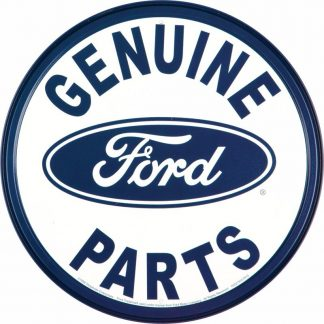 Ford Genuine Parts Metal Tin Sign