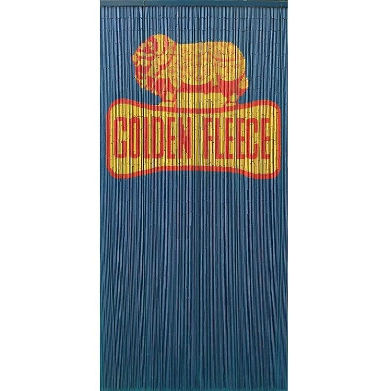 Golden Fleece Bamboo Door Curtain Hand Painted Both Sides