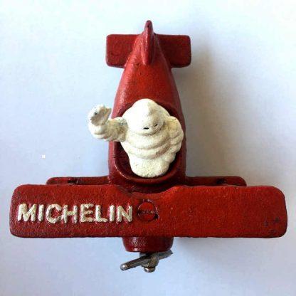 Michelin Man on Plane