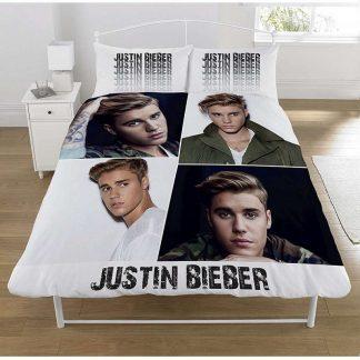 Justin Bieber Double Quilt