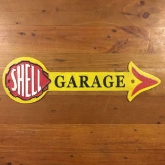 Shell Garage Arrow