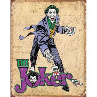 Batman DC Comics The Joker Metal Tin Sign