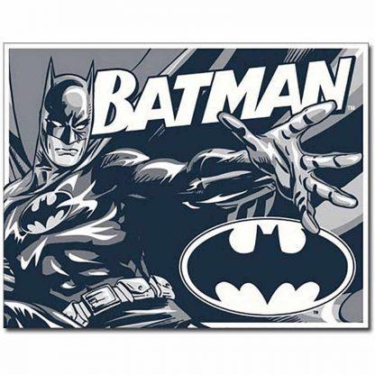 Batman Duotone Metal Tin Sign