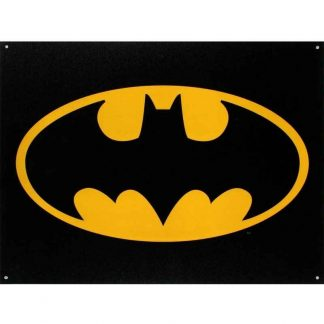 Batman Logo Metal Tin Sign