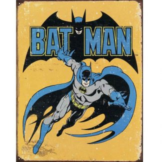 Batman Retro Metal Tin Sign