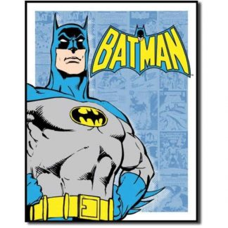 Batman Retro Panels Metal Tin Sign
