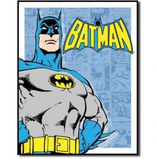 Batman Retro Panels Metal Tin Sign