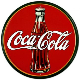 Coke Round 30's Bottle & Logo