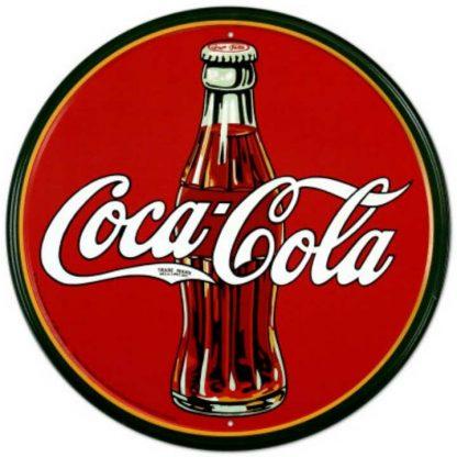 Coke Round 30's Sign