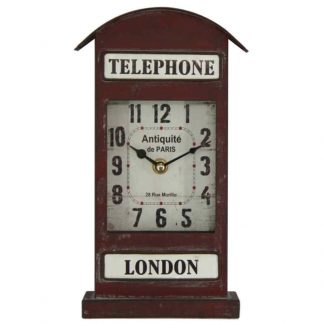 London Telephone Clock