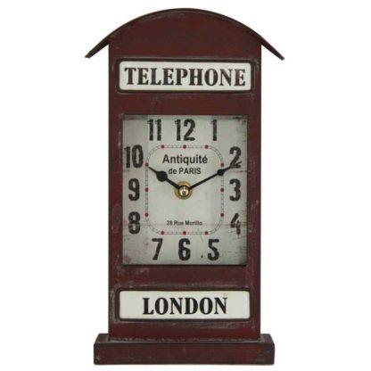 London Telephone Clock