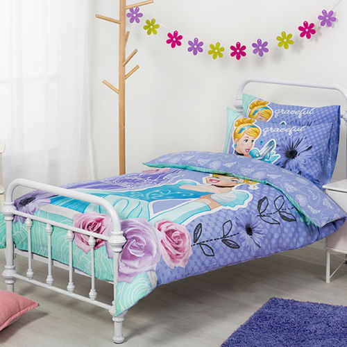 Cinderella Disney Princess Double Quilt - Kidscollections : disney princess quilt - Adamdwight.com