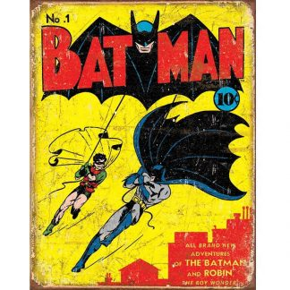 Batman No1 Cover Metal Tin Sign