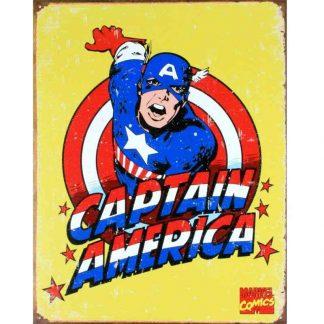 Captain America Retro Metal Tin Sign
