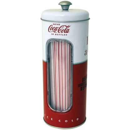 Coke Straw Holder