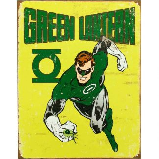 Green Lantern Retro Metal Tin Sign