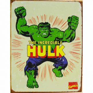 Hulk Retro Metal Tin Sign