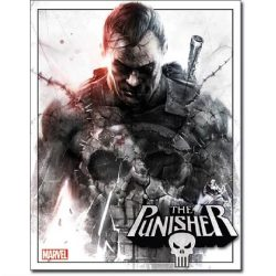 Marvel The Punisher Metal Tin Sign