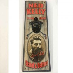 Ned Kelly Wall Bottle Opener