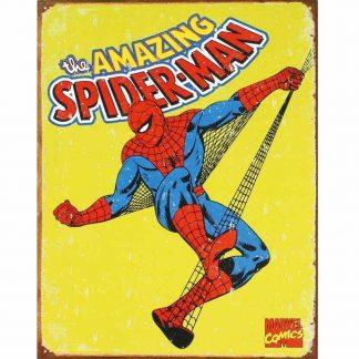 Spiderman Retro Metal Tin Sign