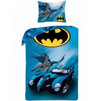 Batman Batmobile Single Quilt Cover