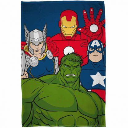 Marvel Avengers Mission Fleece Blanket