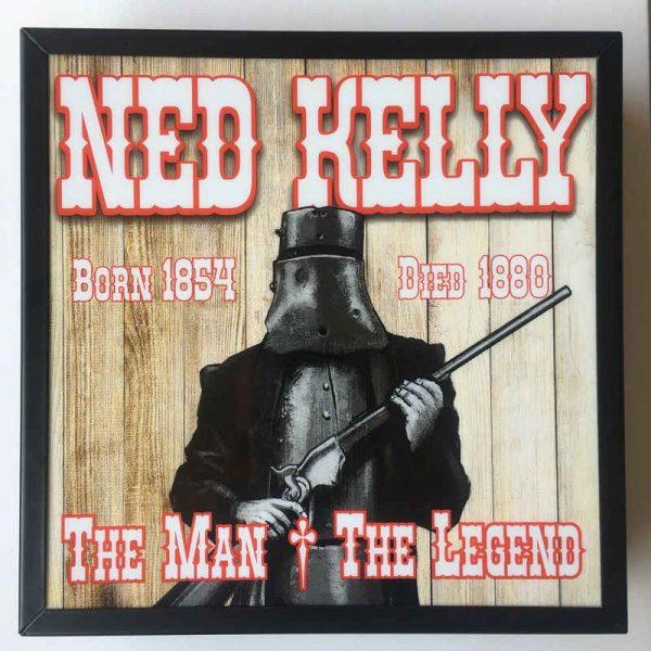 Ned Kelly Light Box