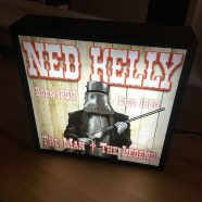 Ned Kelly Light Box