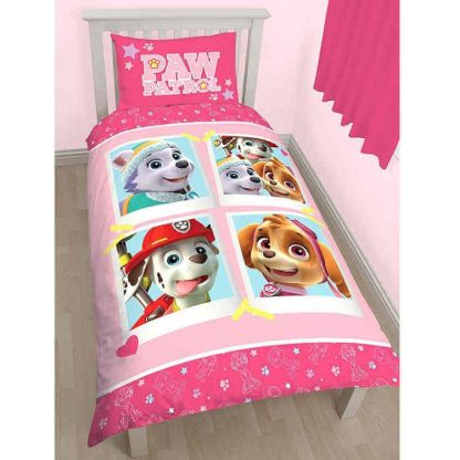 Paw Patrol Stars Single Quilt Cover