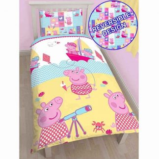 Peppa Pig Nautical Single Quilt Cover