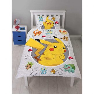 Pokémon Catch Single Quilt Cover