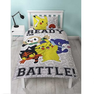 Pokémon Laredo Single Quilt Cover